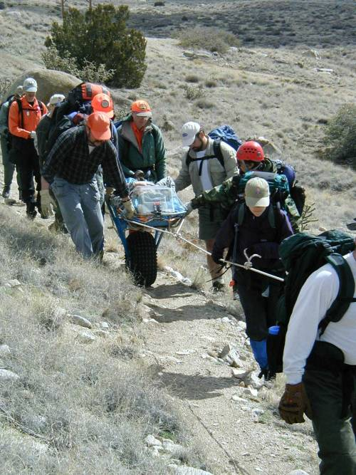 Figure 4: Litter on the trail